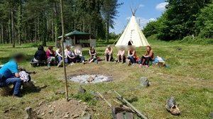 Stage chamanisme : hutte de sudation
