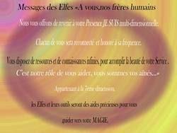 Messages Elfes stage alchimie et connexion elfique